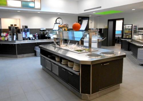 De Laire Service Du Restaurant Institutionnel LInstitut Universitaire En Sant Mentale Douglas Inclus Dans Une Rnovation La Salle Manger