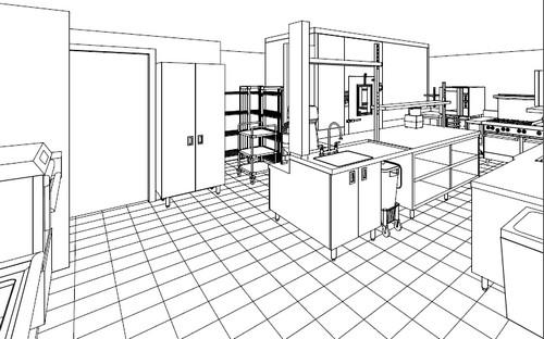 Cuisine conception la carte hrimag hotels restaurants et institutions - Plan d une cuisine ...