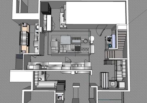 Cuisine conception la carte hrimag hotels for Plan amenagement cuisine restaurant