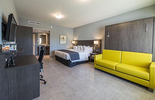 r novations importantes chez h tel et suites le dauphin drummondville hrimag hotels. Black Bedroom Furniture Sets. Home Design Ideas