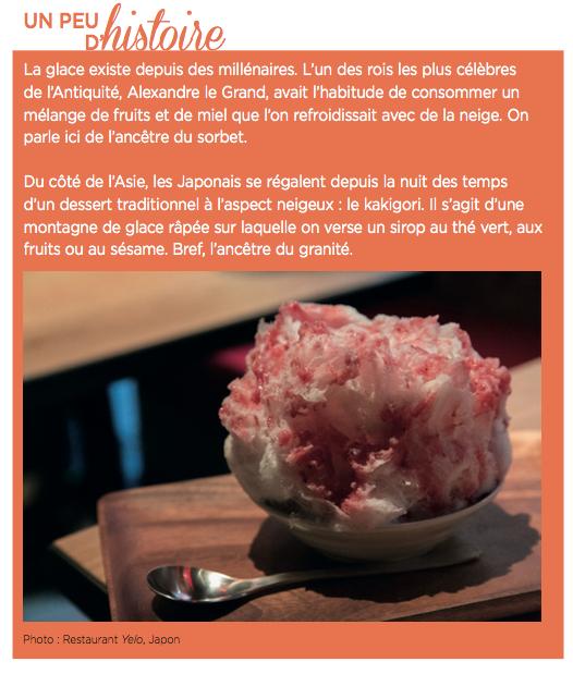 Une glace au foie gras que l on pose sur une pièce de viande bien saisie ou  qu on laisse fondre sur un risotto fumant... Un sorbet ... f3065cdb40d